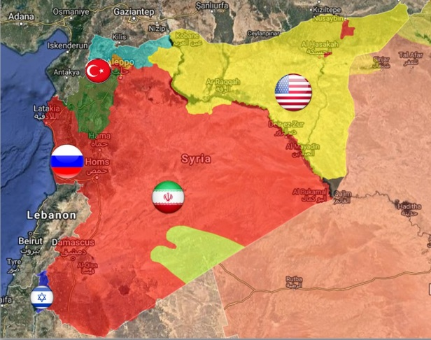 spheres of influence syria